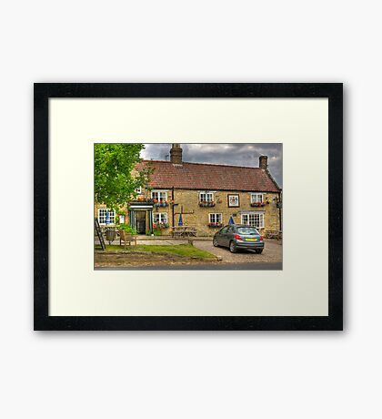 The Fauconberg Arms - Coxwold,North Yorkshire. Framed Print