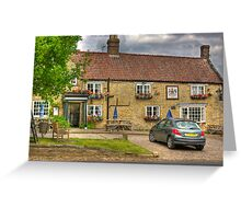 The Fauconberg Arms - Coxwold,North Yorkshire. Greeting Card