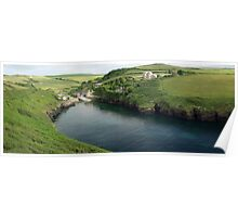 Port Quin Panorama Poster