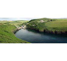 Port Quin Panorama Photographic Print