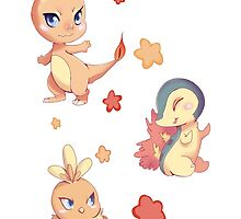 Fire starters pattern by Paintingpixel