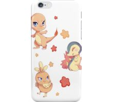 Fire starters pattern iPhone Case/Skin