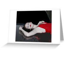 Murder Greeting Card