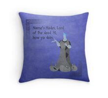 Hercules inspired design (Hades). Throw Pillow