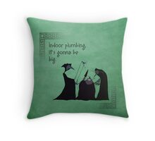 Hercules inspired design (Fates). Throw Pillow