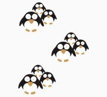 Penguins by Letje van Rhijn