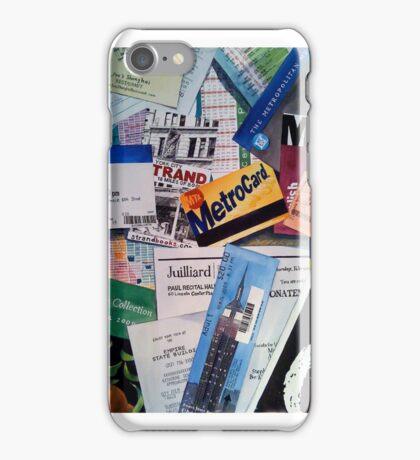 New York City Souvenir Collage iPhone Case/Skin