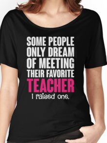 Proud Teacher Mom Women's Relaxed Fit T-Shirt