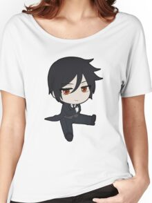 Black Butler: Sebastian Chibi Women's Relaxed Fit T-Shirt