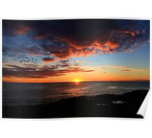 Sunrise at Avoca Beach Poster