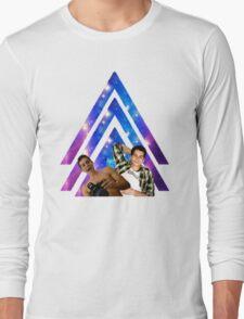 Black Dylan O'Brien Arrow Long Sleeve T-Shirt