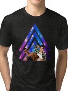 Black Dylan O'Brien Arrow Tri-blend T-Shirt