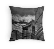Reflecting in London Throw Pillow