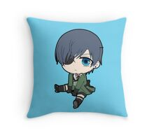 Black Butler: Ciel Phantomhive chibi Throw Pillow