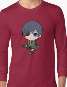 Black Butler: Ciel Phantomhive chibi Long Sleeve T-Shirt