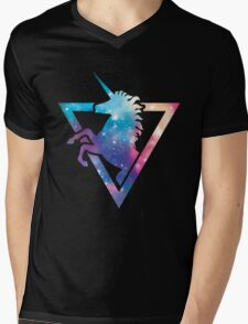 Galaxy Unicorn  Mens V-Neck T-Shirt