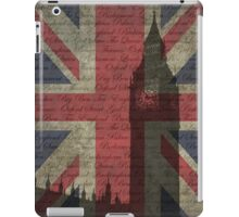 London-Typography iPad Case/Skin