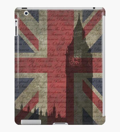 London-Typography iPad Case/Skin