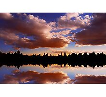 Morning at the Reservoir, New York City, USA Photographic Print