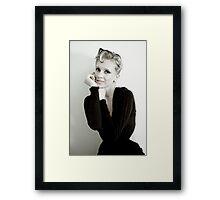 classic anya Framed Print