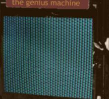 The Genius Machine Sticker