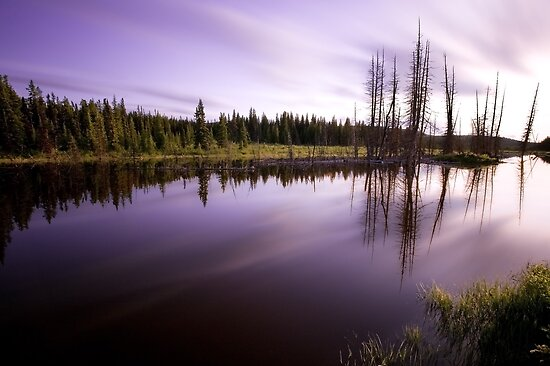 Dusk Reflections by Kevin  Kroeker