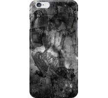 When The Stars Are Right - M78 in Orion (black & white version) iPhone Case/Skin