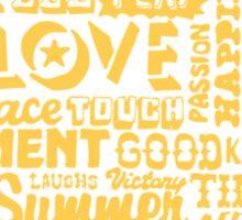 Good things on the horizon (Sunshine) Sticker