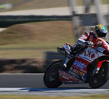 Troy Bayliss on his Ducati (1098) by phanoongy