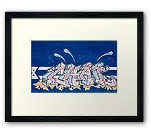 Tampa Graffiti Framed Print