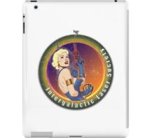 Intergalactic Laser Society - Laser Girl Patch iPad Case/Skin