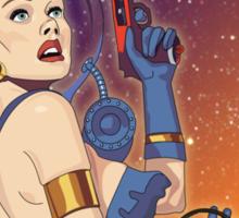 Intergalactic Laser Society - Laser Girl Patch Sticker