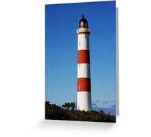 Tarbat Ness Tall Lighthouse Greeting Card
