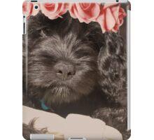 Flower Crown Pup iPad Case/Skin