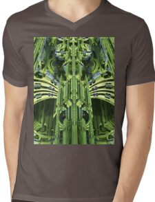 Metagreen Mens V-Neck T-Shirt
