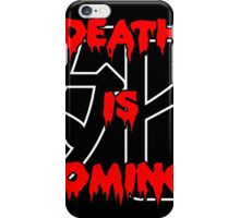 1930s Death is Coming Hype Tee iPhone Case/Skin