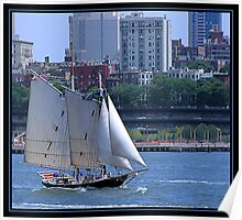 SAILING NEW YORK Poster