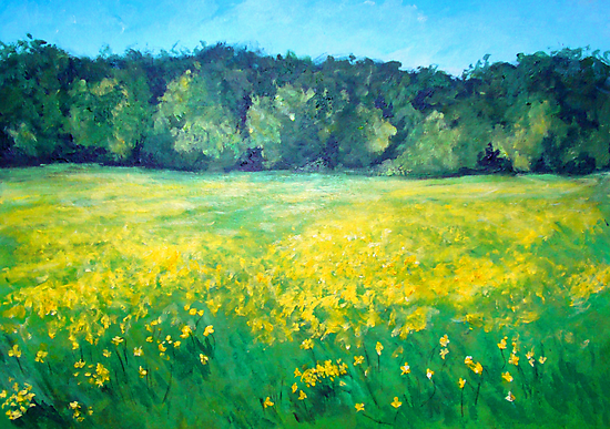 A host of golden daffodils by Carole Russell