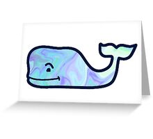 Vineyard Vines Whale Logo Holographic Greeting Card