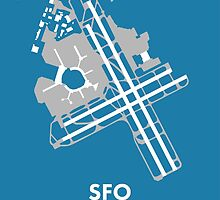 SFO - San Francisco International Airport by Richard McKenzie