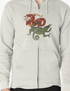 Dragons Tee Zipped Hoodie
