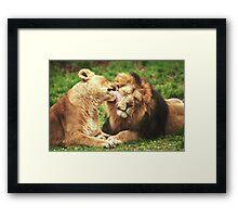 Pure Love! Framed Print