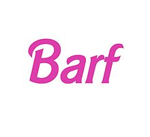 Pink Barf Barbie by hellosailortees