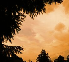 Sunset Storm  by linmarie
