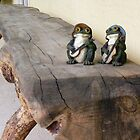 Frogs on a log by Jimlhanson