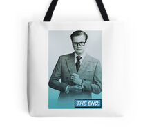 Colin Firth Comic Book Style Tote Bag