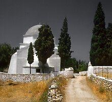 Church, Paros Greece by milton ginos
