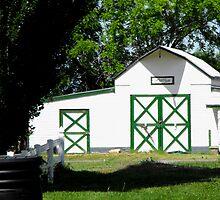Jim's Little Acre Barn by Jan  Tribe