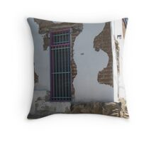 Stucco and Fired Adobe Throw Pillow