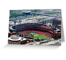 The new St. Louis Cardinals Stadium Greeting Card